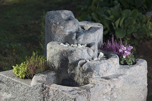 natursteinbrunnen garten, quellsteine & brunnen, Design ideen